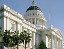 photo of CA state Capitol building for Medicaid expansion evaluation