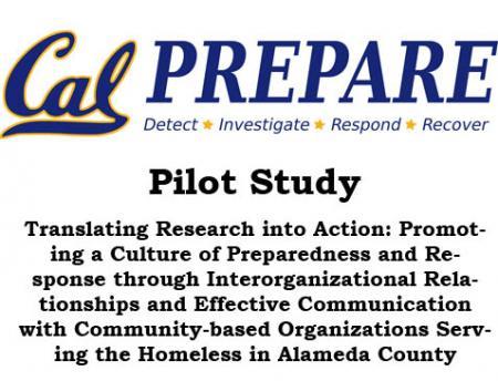 UC Berkeley Cal PREPARE Pilot Study graphic