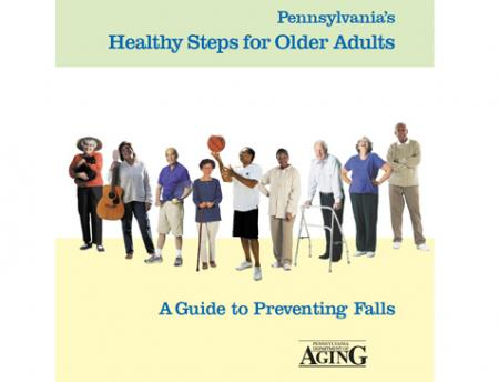 Cover of the Healthy Steps Guide for Older Adults